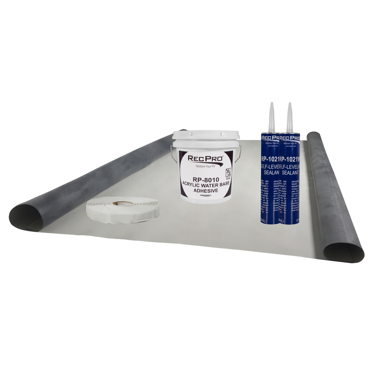 Roofing 9 5 Wide Epdm Rv Rubber Roof Kit