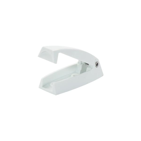 Hardware Rv Baggage Door Catch Rounded White