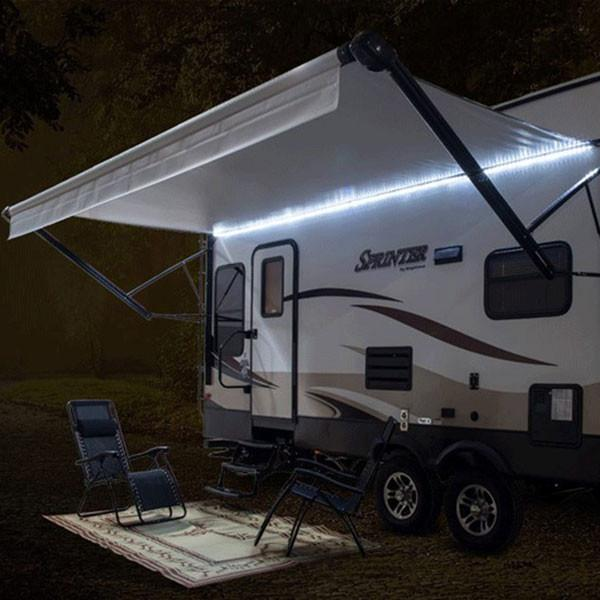 LED Lighting: 20' LED RV Awning Party Light W/ Mounting