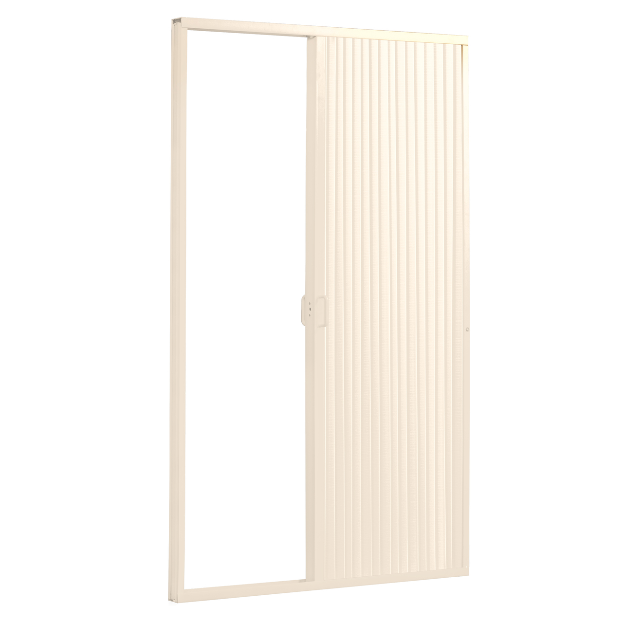 Showers Pleated Folding Rv Shower Doors Ivory